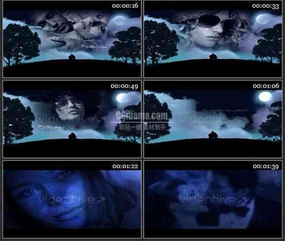 AE0841-浪漫夜空 图文展示