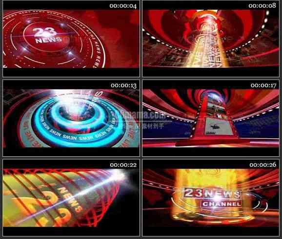 AE0867-现代媒体 图文视频展示片头