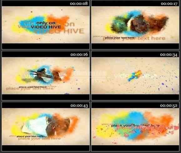 AE0925-彩色喷雾 图文视频展示