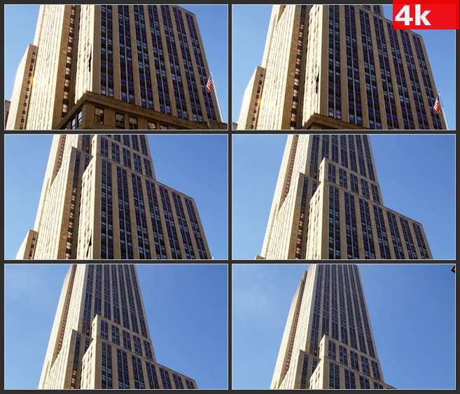 4K0594帝国高楼大厦 高清实拍视频素材