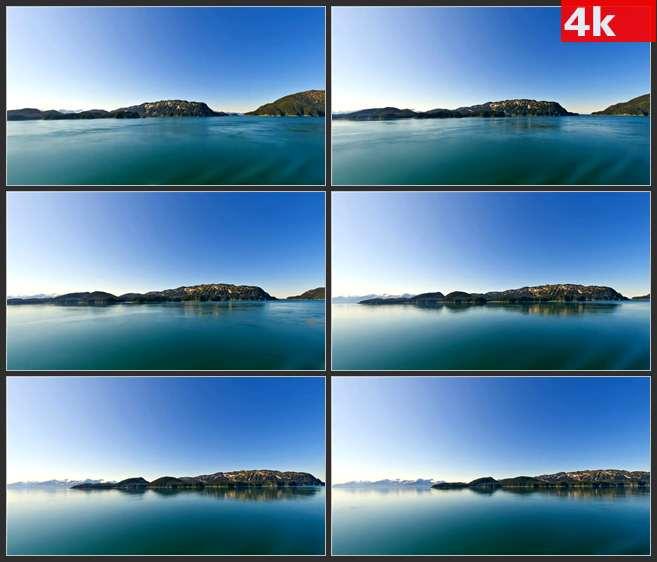 4K0704阿拉斯加山水景观 高清实拍视频素材
