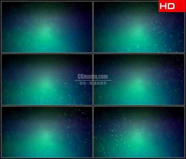 BG0034-摘要灰蓝色颗粒荧光粒子高清LED视频背景素材
