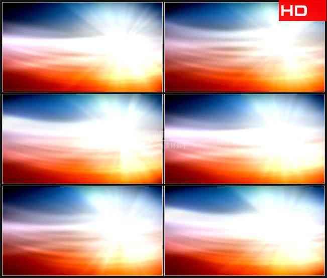 BG0036-红蓝星光照耀背景高清LED视频背景素材