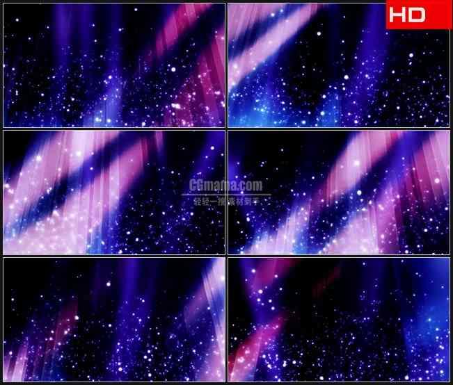 BG0040-摘要紫色紫红色火花粒子星光高清LED视频背景素材