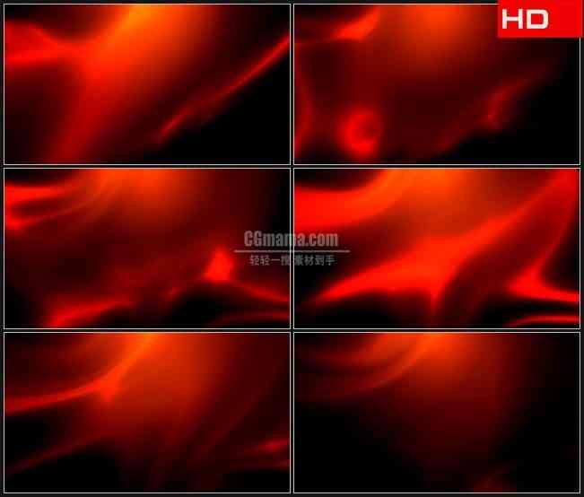 BG0042-摘要国旗红色绸缎运动背景高清LED视频背景素材