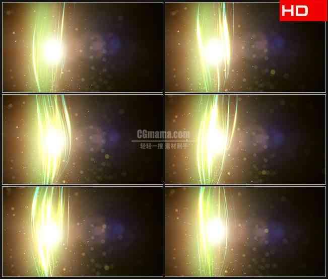 BG0052-光束采光星光粒子背景高清LED视频背景素材