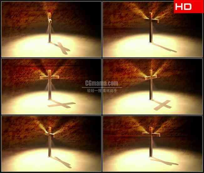 BG0059-圣经十字架信仰宗教高清LED视频背景素材