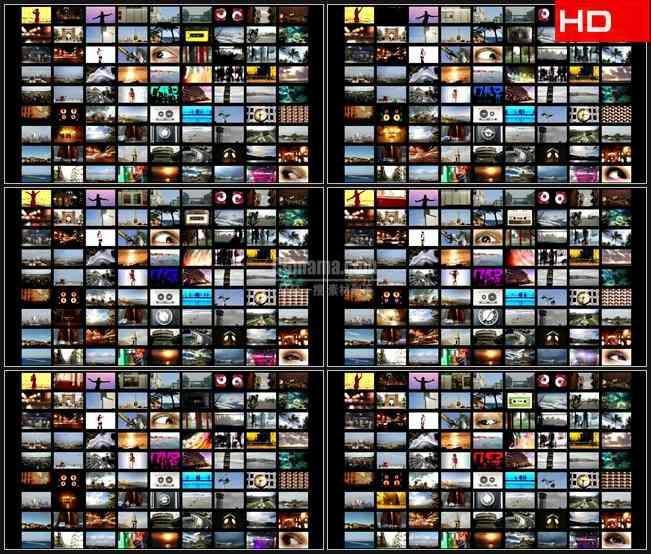 BG0061-多媒体影像墙高清LED视频背景素材
