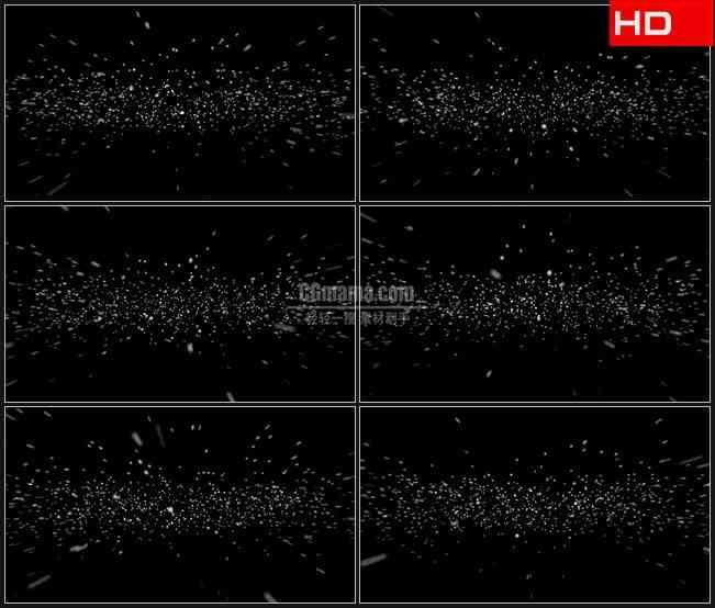 BG0070-透明通道循环星空粒子飞出覆盖高清LED视频背景素材