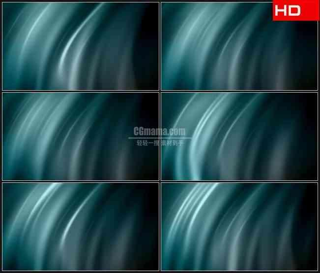 BG0084-蓝色黑色光芒波纹高清LED视频背景素材