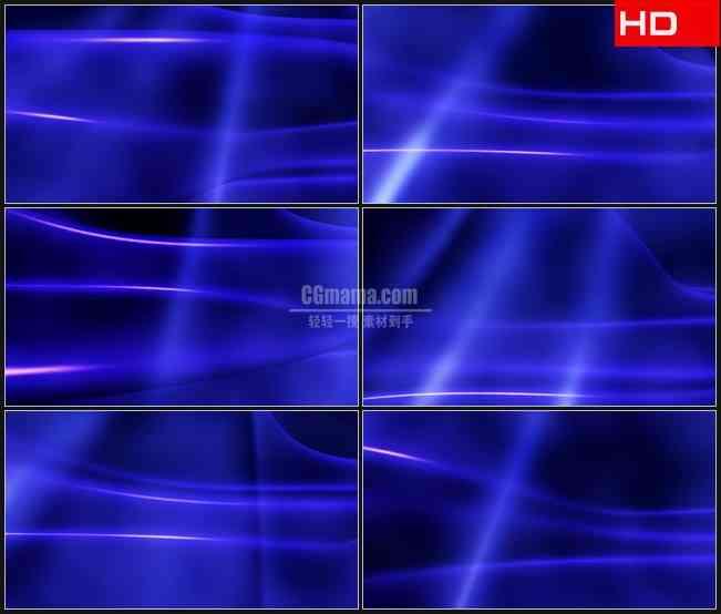 BG0098-蓝紫色光线运动背景高清LED视频背景素材