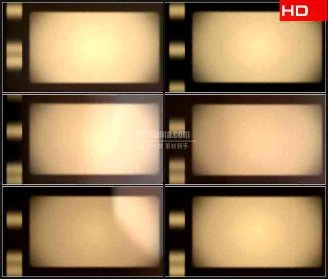 BG0105-老式胶片滚动展示板高清LED视频背景素材