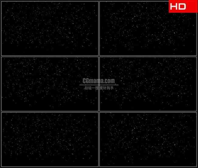 BG0116-运动飘落微小流星高清LED视频背景素材