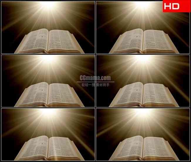 BG0117-宗教信仰圣经光芒高清LED视频背景素材