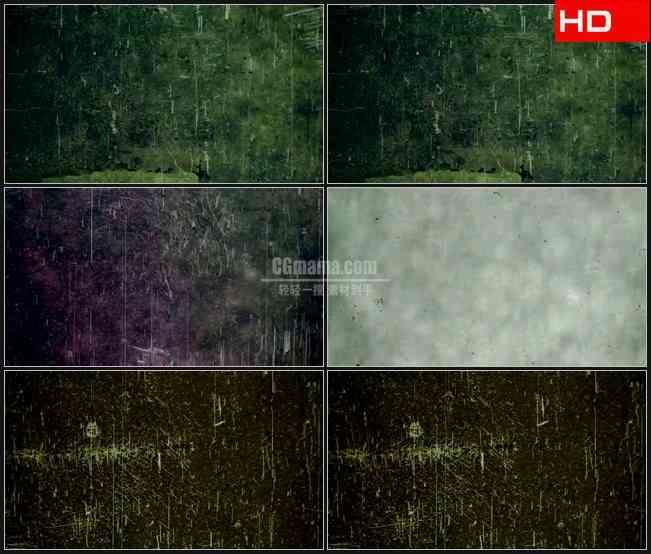BG0164-薄膜晶粒噪波动态背景高清LED视频背景素材