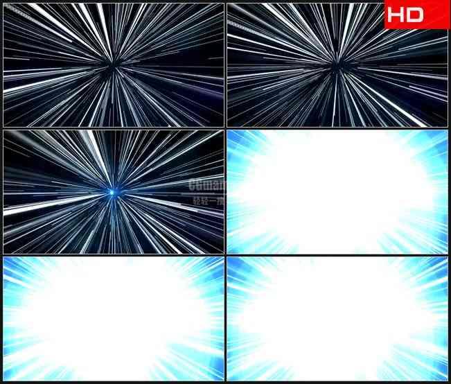 BG0168-光明冲击银河系光束高清LED视频背景素材