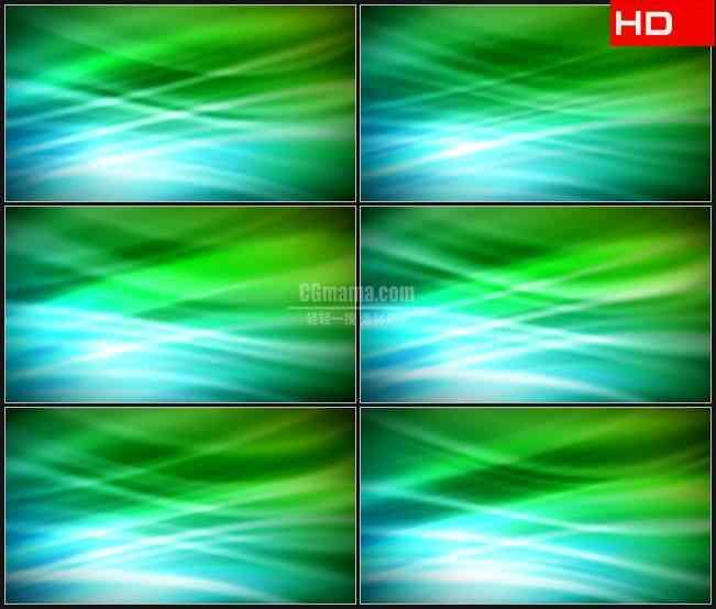 bg0170-绿色蓝色幕布光线动态背景摘要高清led视频背景素材