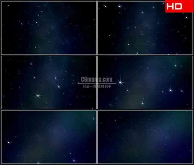 BG0171-缩放朦胧宇宙星空高清LED视频背景素材