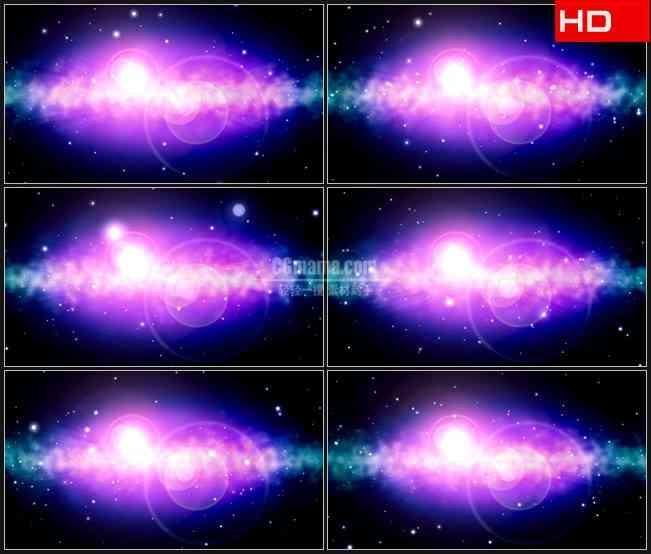 BG0213-紫色光晕粒子光斑高清LED视频背景素材