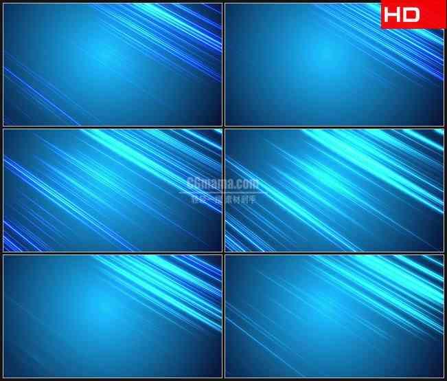 BG0217-蓝色的背景反射线动态背景高清LED视频背景素材
