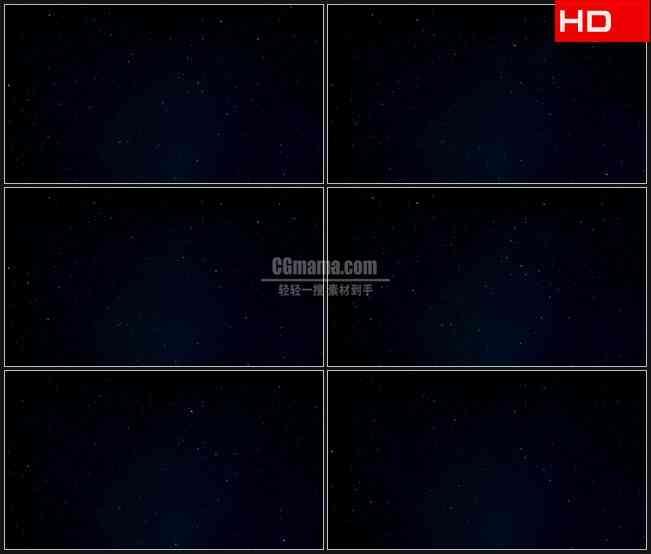 BG0218-夜晚天空航天星空星星闪烁高清LED视频背景素材