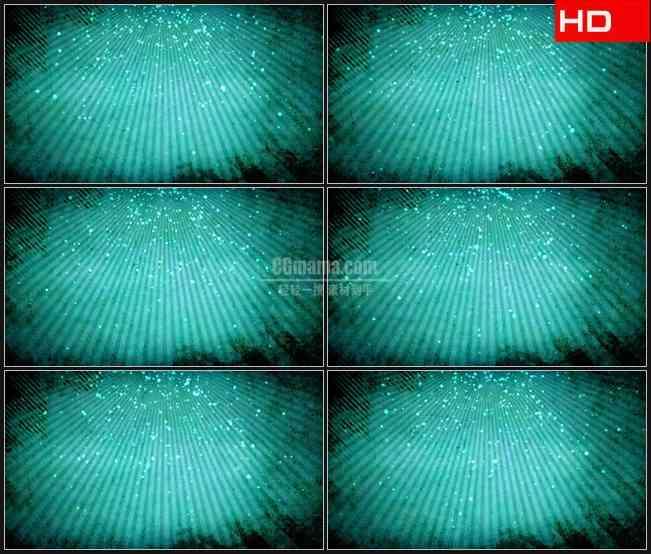 BG0245-蓝色光芒复古纹理粒子高清LED视频背景素材