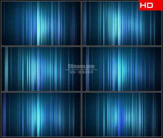 BG0246-垂直线水变色蓝色动态背景摘要高清LED视频背景素材
