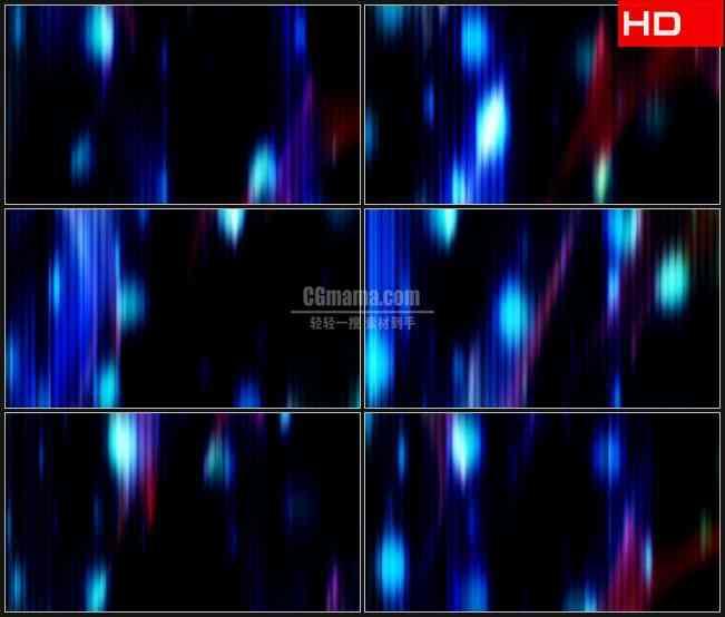 BG0251-黑暗抽象灯光竖条霓虹高清LED视频背景素材