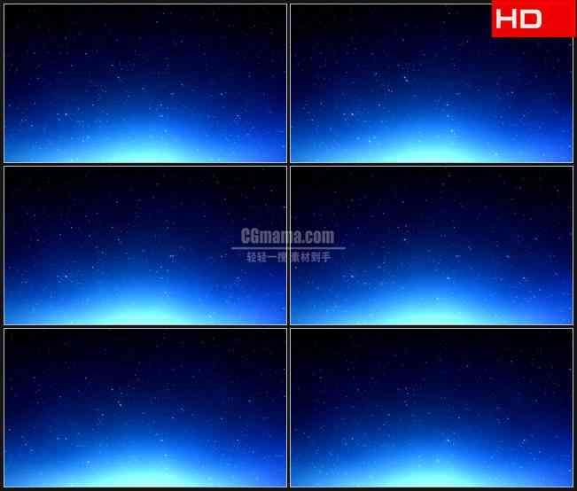 BG0271-蓝色照亮星空高清LED视频背景素材