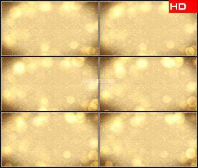 bg0279-金色欧式复古花纹背景高清led视频背景素材