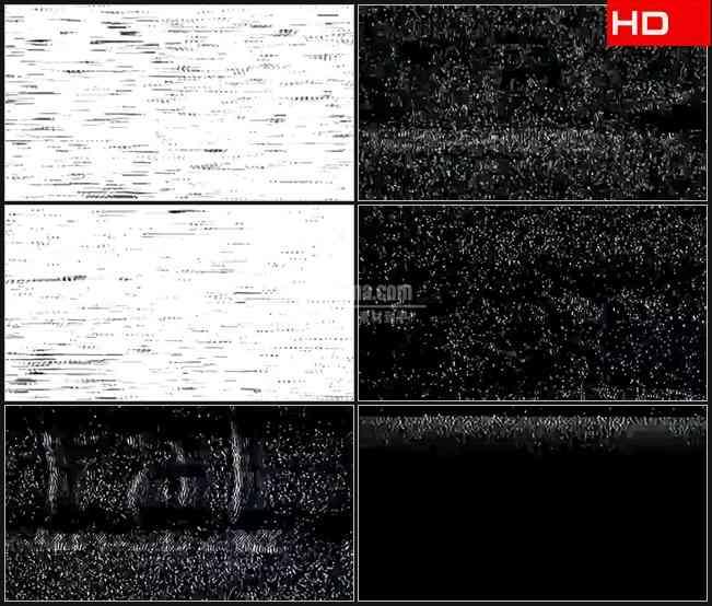 BG0332-电视视频信号干扰噪波高清LED视频背景素材