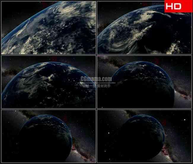 BG0402-缩小地球动画高清LED视频背景素材