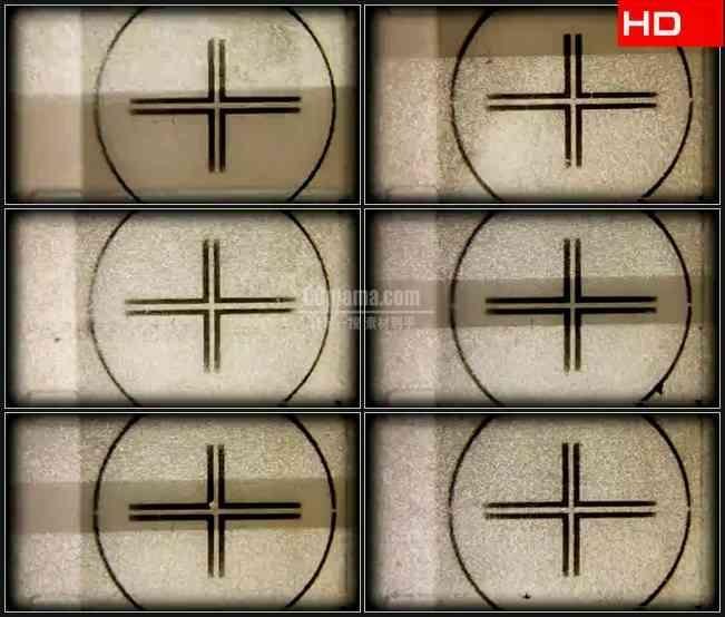 BG0406-老电影数字倒计时序列画面高清LED视频背景素材