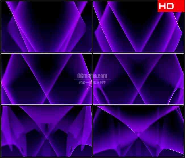 BG0449-紫色激光交错交叉动态背景摘要高清LED视频背景素材