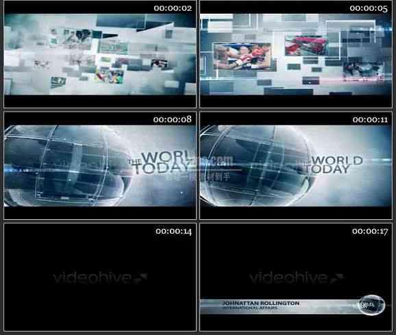 AE0942-今日世界 图片视频展示