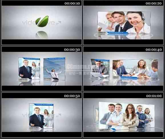 AE1006- 商务类片头图文展示