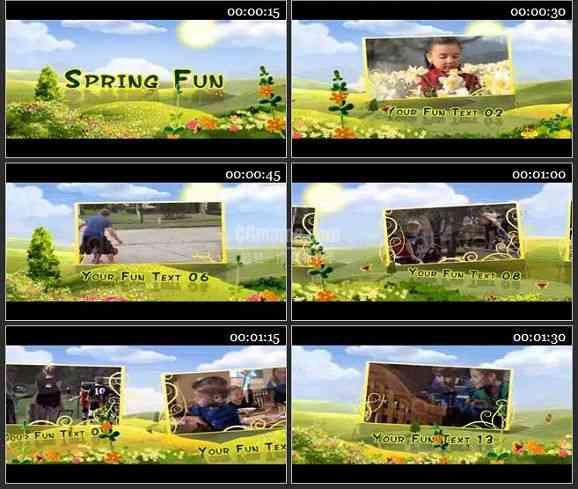 AE1017- 春天的乐趣 相册