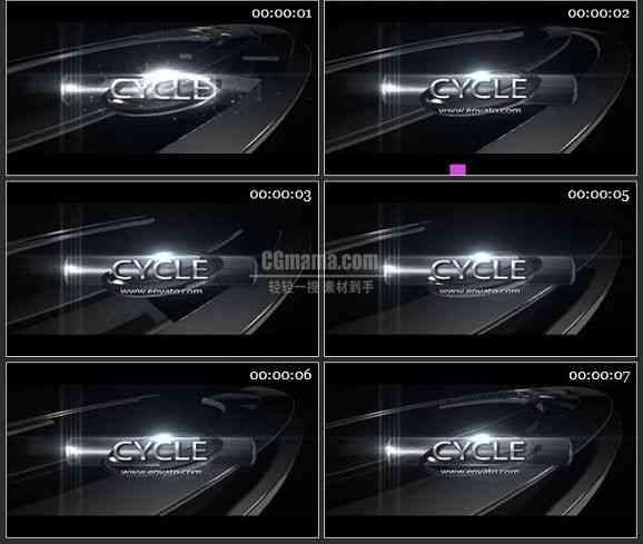 AE1092-黑色酷炫片头 LOGO文本展示