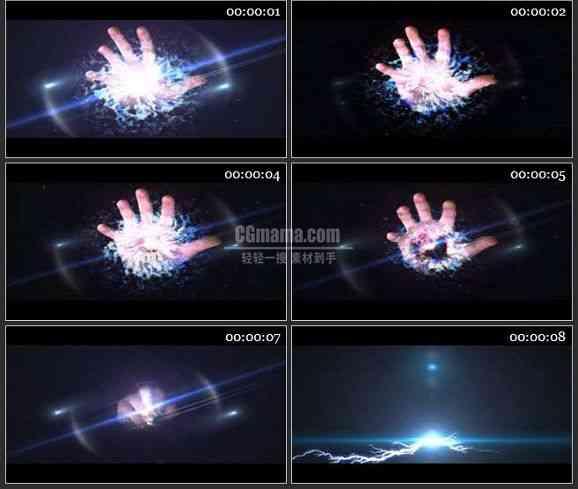 AE1123-神奇的魔术手 片头