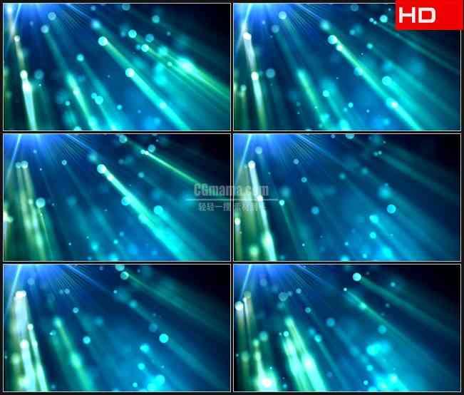 BG0467-蓝色光斑光线梦幻照耀动态背景高清LED视频背景素材