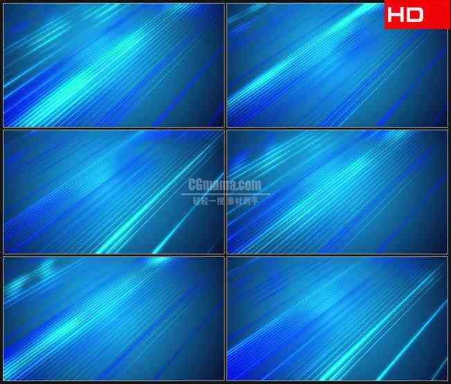 BG0486-蓝色背景与对角线光线动态背景高清LED视频背景素材