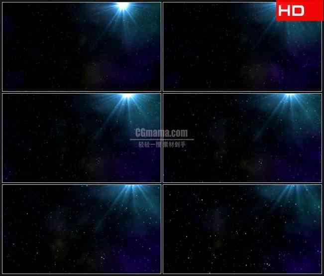 BG0540-星空辉光照耀高清LED视频背景素材