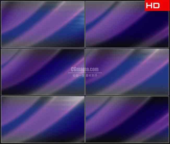 BG0563-幽紫色淡蓝色光影浮动高清LED视频背景素材