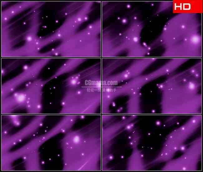 BG0604-紫色萤火光斑运动飞出高清LED视频背景素材