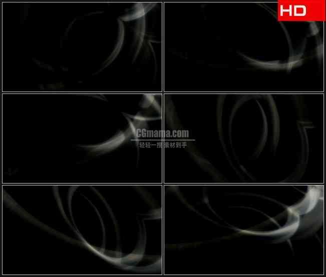 BG0701-白色光线烟雾运动动态背景高清LED视频背景素材