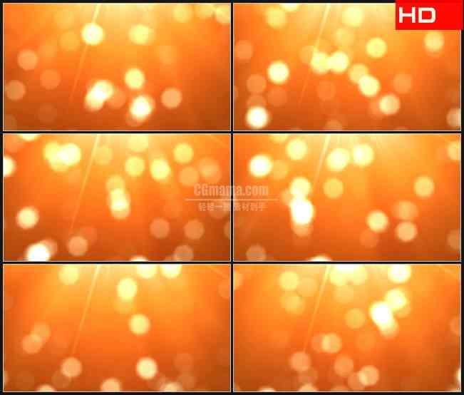 BG0744-橙色灯闪烁动态背景高清LED视频背景素材