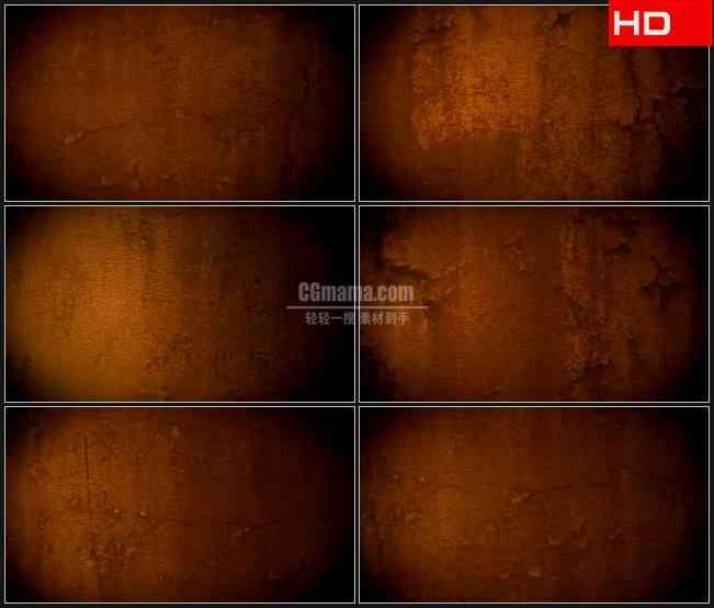 BG0748-复古黄色斑驳纹理动态背景高清LED视频背景素材