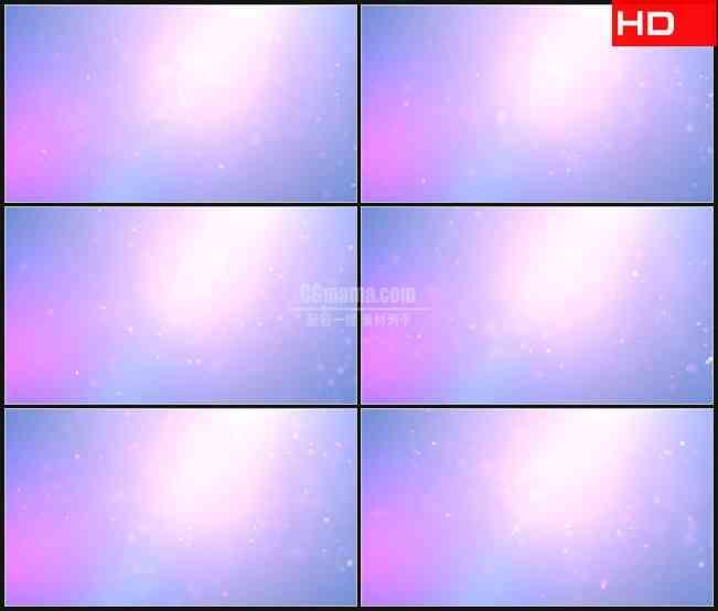 BG0788-摘要浮游颗粒荧光淡粉色动态背景高清LED视频背景素材