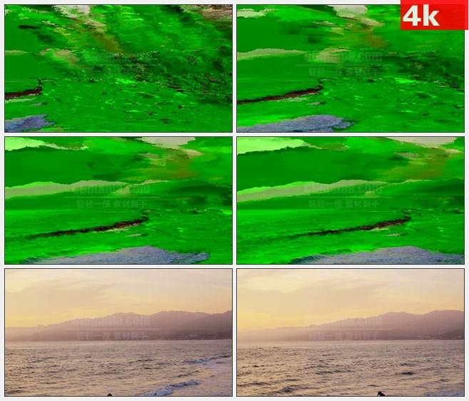 4K0970海岛沙滩大海自然美景高清实拍视频素材