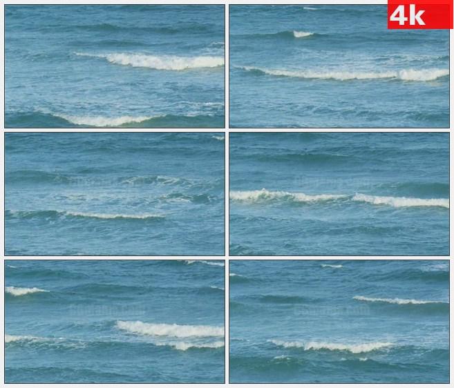 4K0979海水浪花大海高清实拍视频素材